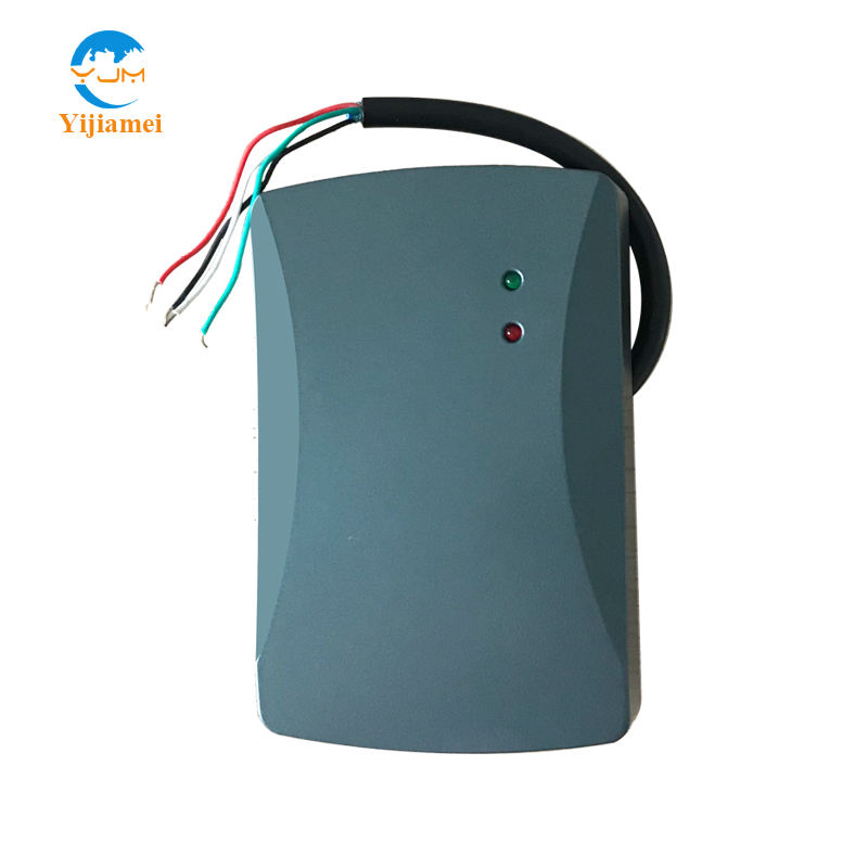Outdoor Waterproof Access Control RFID Reader with 125KHz work frequency Wiegand26bits or 34bits RS232 or RS485 Interface