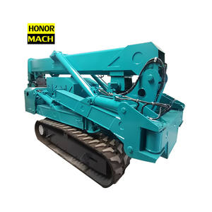 Free Shipping 5 Ton 5000kg 5T diesel engine drive electric spider crane