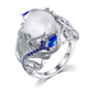Opal Rings Opal 2020 Manufacturer Direct Sale Fashion Designs Beautiful Opal Jewelry Rings For Women