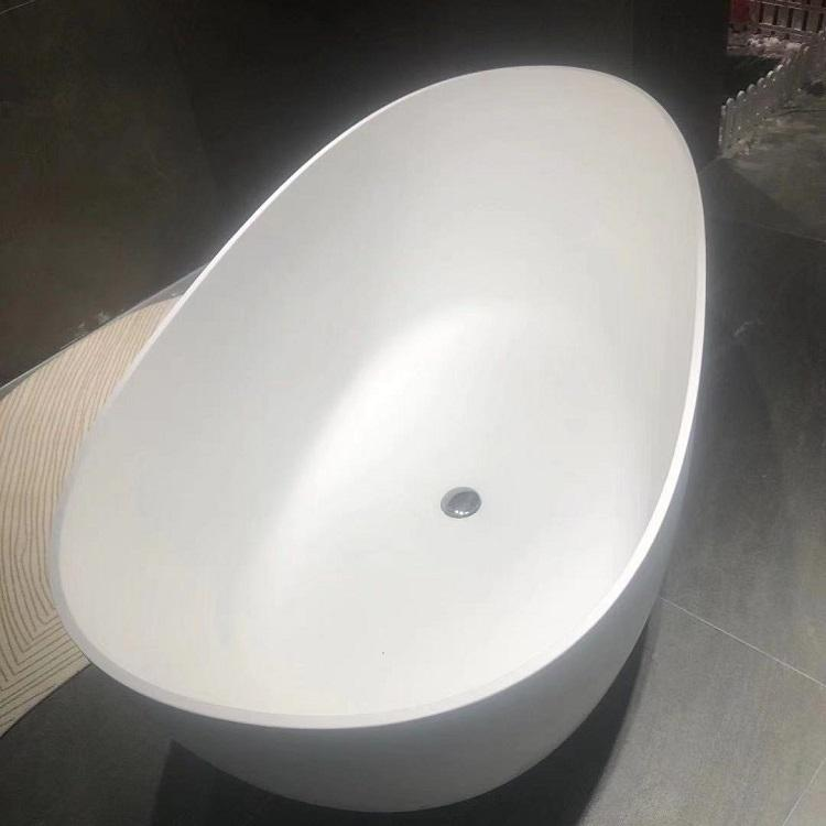 2019 1600Mm Best Mobile Walkin Cheap Alone Oval Extra Inch Small Solid Surface Freestanding Woodbridge Bathtub Part