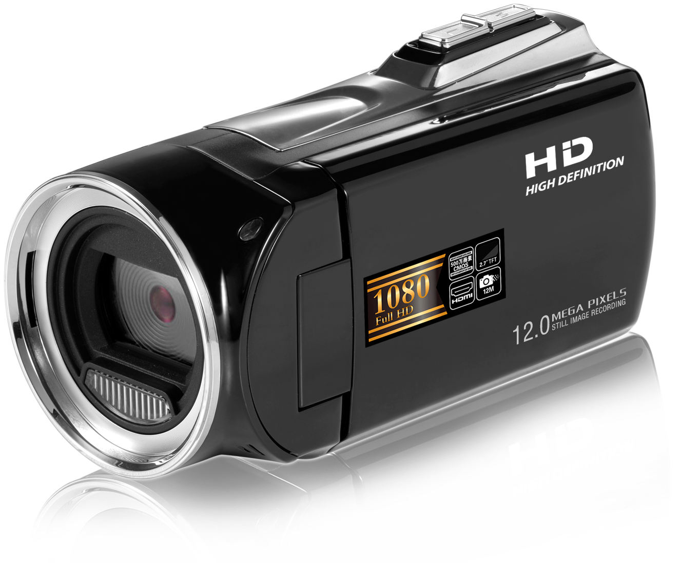 Toptan el Mini DV 1080P dijital video kamera kamera