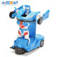 Toys 2020 environment-friendly transforming deformation robot car