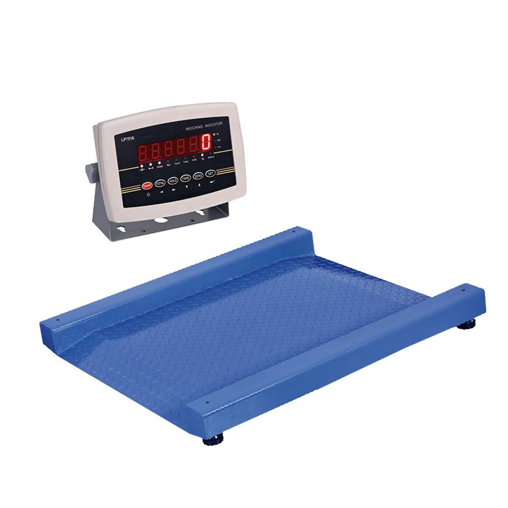 Industrial Durable Digital Platform 1Ton 2Ton 3 Tons Weighing Floor Scale