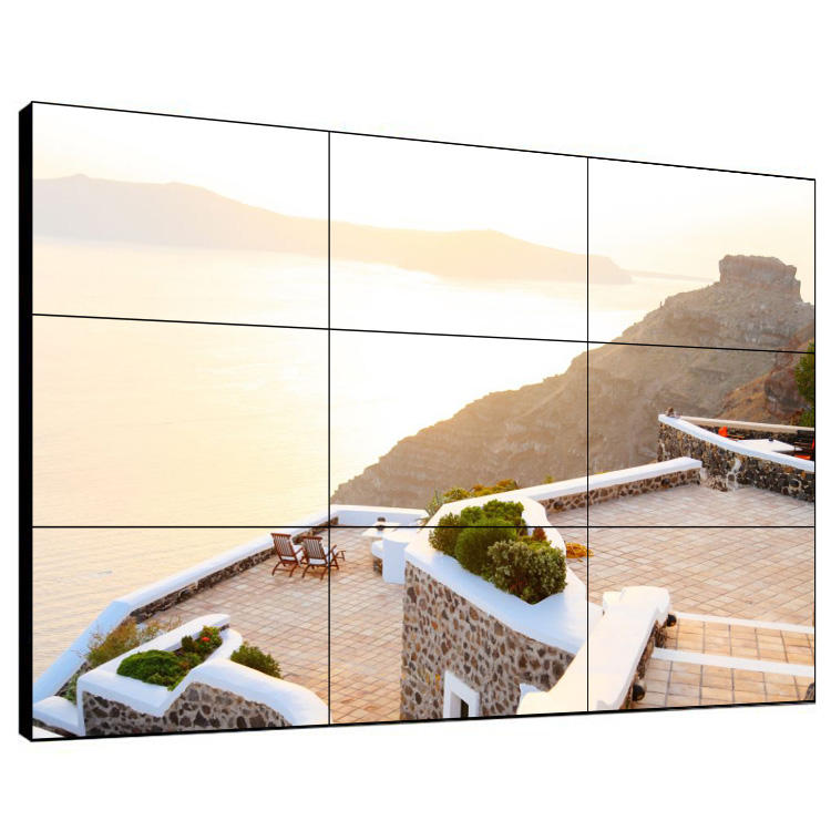 55 polegadas digital wall mounted android smart TV para a publicidade display LED tela venda quente