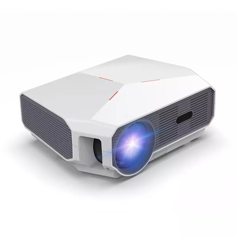 LED Full HD Projector Smart Home Theater 4800 Lumens 1080p 4K LCD Portable for Laptop Video TV