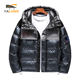 Hot sale popular wholesale puffer quilted jacket winter down children coat for boy