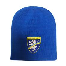 cheap wholesale custom mens sacrylic knit football  sports beanie