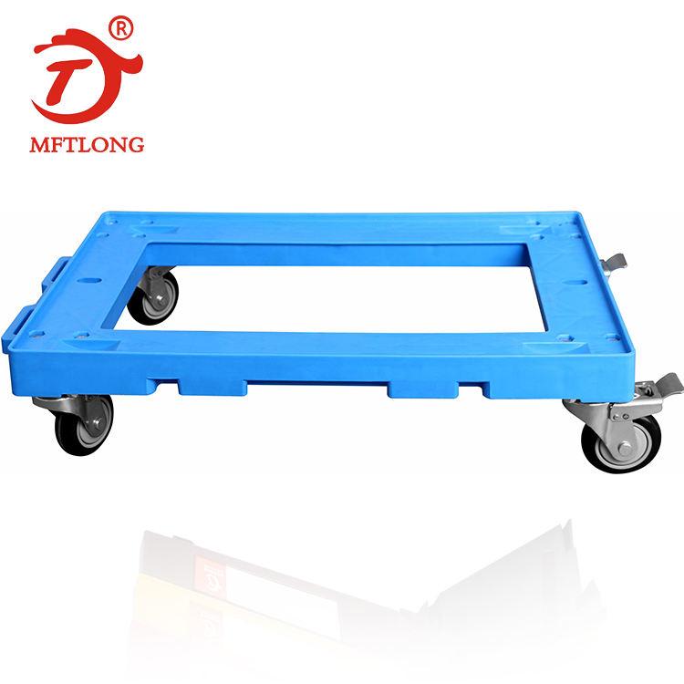 4 Contenitore di rotella Auto cassa auto MFTLONG strumenti Box auto Carrello cassa carrello Strumenti Camion in movimento trolley Dolly1 # Plastica piattaforma con trasporto Asta