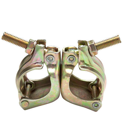 Low Cost Durable British Forged Fixed Coupler Double Coupler Coupleur and Joint Pin High Quality Double/Swivel Forged and Press