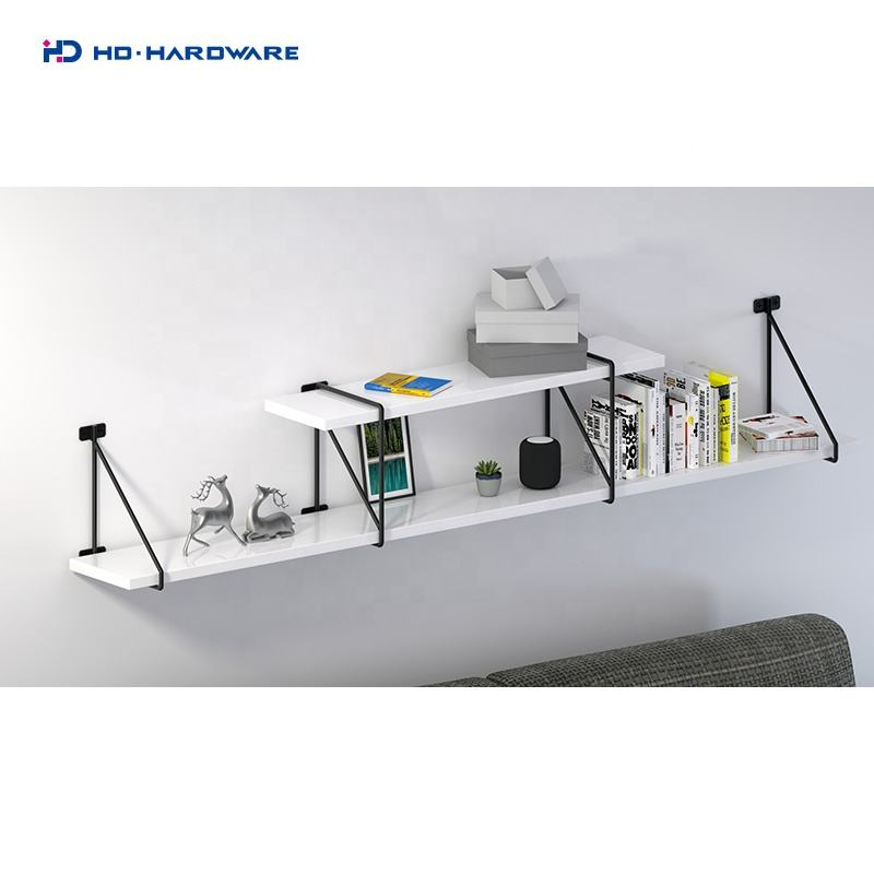 Hardware display shelf 11.01.040 wall shelf bracket