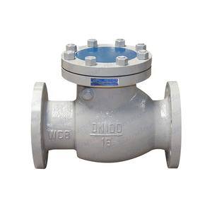 Bundor Factory Price WCB 300lb DN80 Cast steel Swing Check Valve