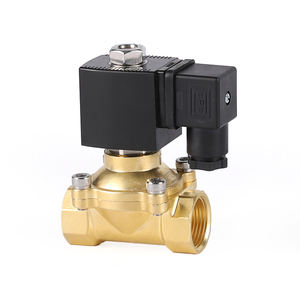 ZX202 series high frequency cleaned air water gas oil oxygen 24v 220v electric low temperature solenoid valve