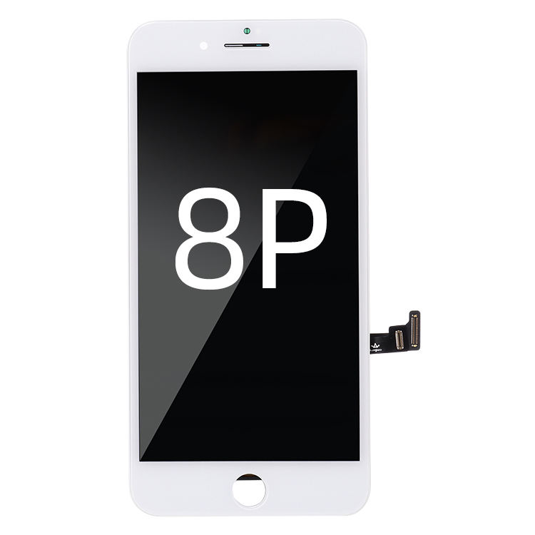 8 plus display and mobile phone lcd of Replacement flexible lcd touch screen tft for iPhone 8 Plus of black and white