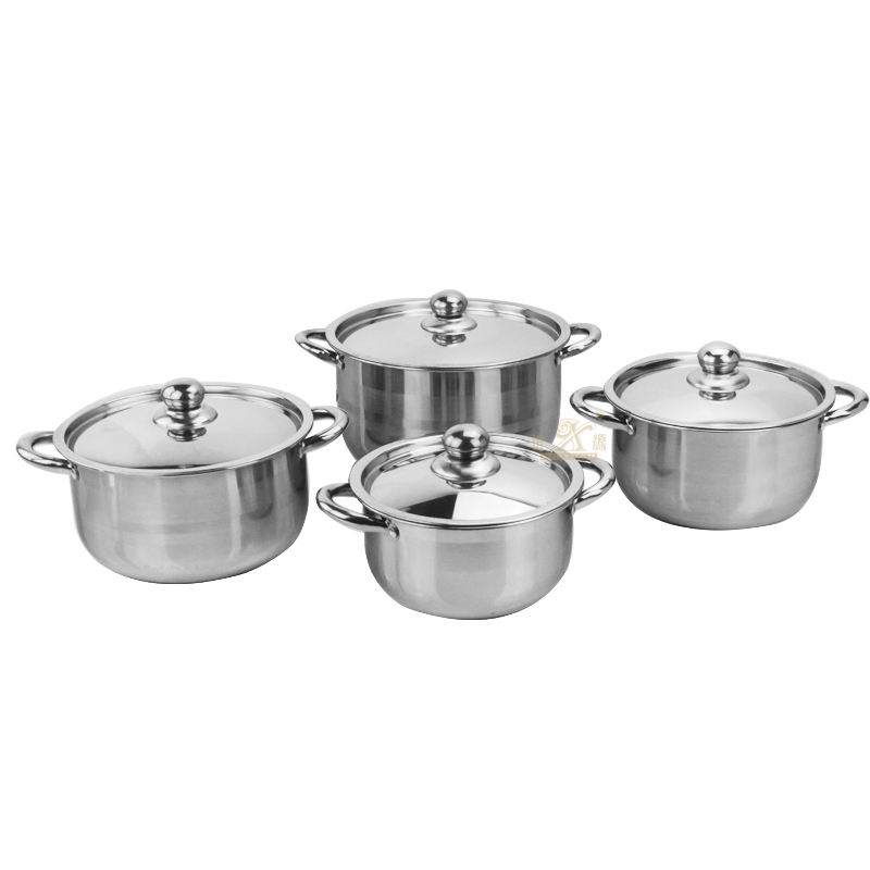 Hot sale products kitchen ware products stainless steel cooking pot set