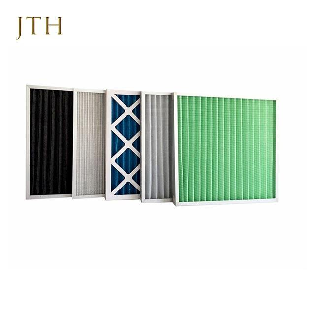 washable primary air filter G3 pleated panel air filter for HVAC