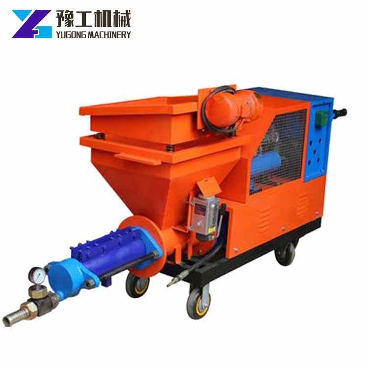 Best Price electric cement mortar mix and spray plastering machine for sale