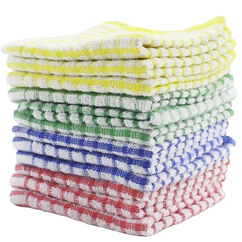 100% cotton With Terry Loop Terry Tea Towel Cheap Price Kitchen Towels Wholesale