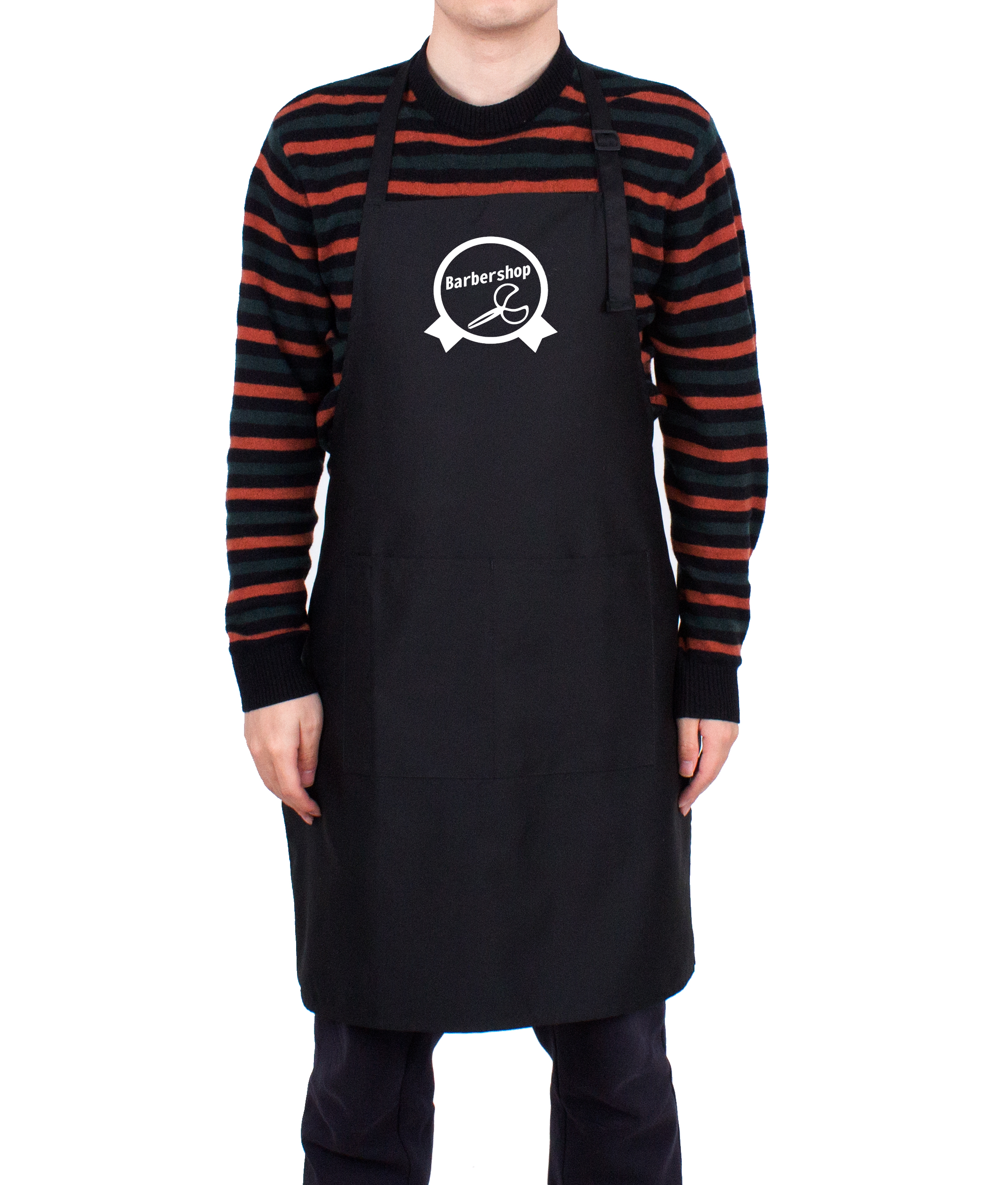 Hotel chef apron customized logo aprons kitchen cooking with waterproof in Cotton Polyester adjustable