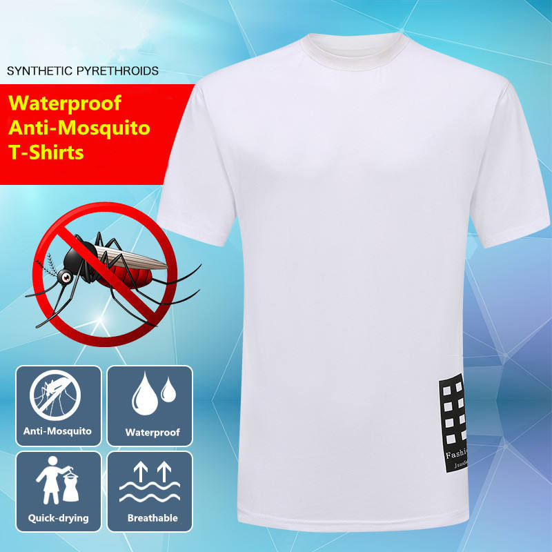 Custom Say Goodbye to Mosquitoes insect repellent Summer unisex plain clothing China t-shirt oversize 6XL