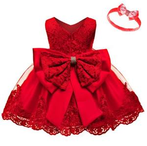 Little Kid Baby kid Flower Girl Summer Birthday Party Dress Costume Princess Dress 0-6 years