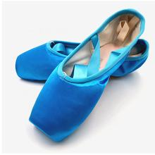Wholesale Ballet Shoes Display Dance Quality Satin Ballet Pointe Shoes  Girls Ballet Shoes