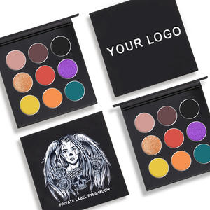 9color Private Label customize DIY own brand eyeshadow combination optional color Custom LOGO eyeshadow palette