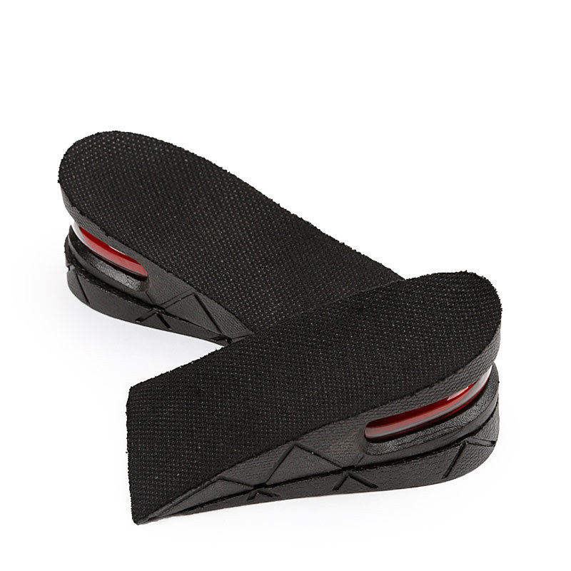 Comfortable Height Increase PVC Heel Cushion Shoes Insoles Foot Care Shoes Pad