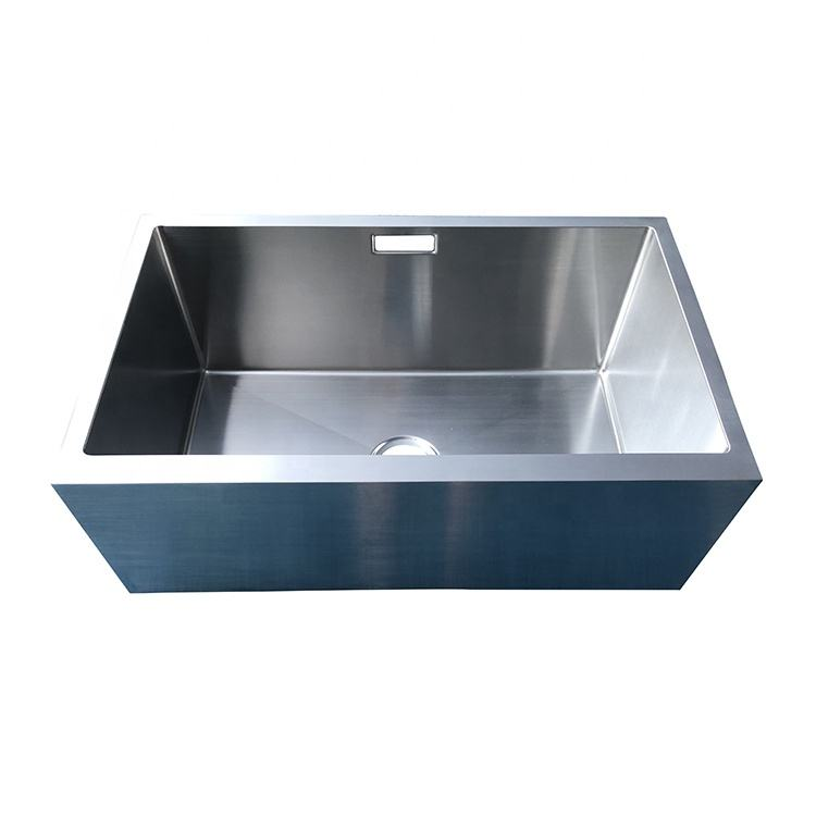 Everpro Foshan kitchen outdoor stainless steel apron front single bowl undermount sink