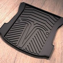 Washable anti slip all around TPE 3d 5d rear car trunk mat waterproof