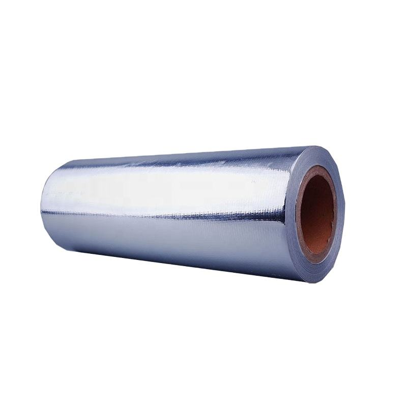 High Quality Customized 3 Layer Bopp Aluminum Foil Laminated Package Printing Red Packaging Film Roll For New Year Celebrations