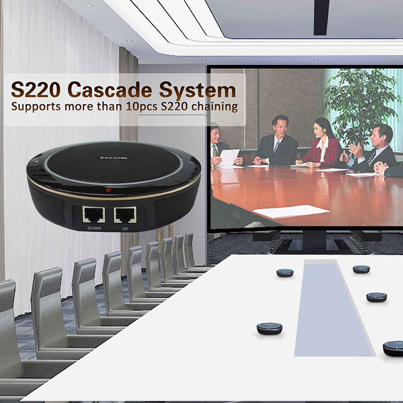 Conference Eacome S220 Conference Speakerphone More Than 6 Units Cascade Microphone Professional Studio Microphone