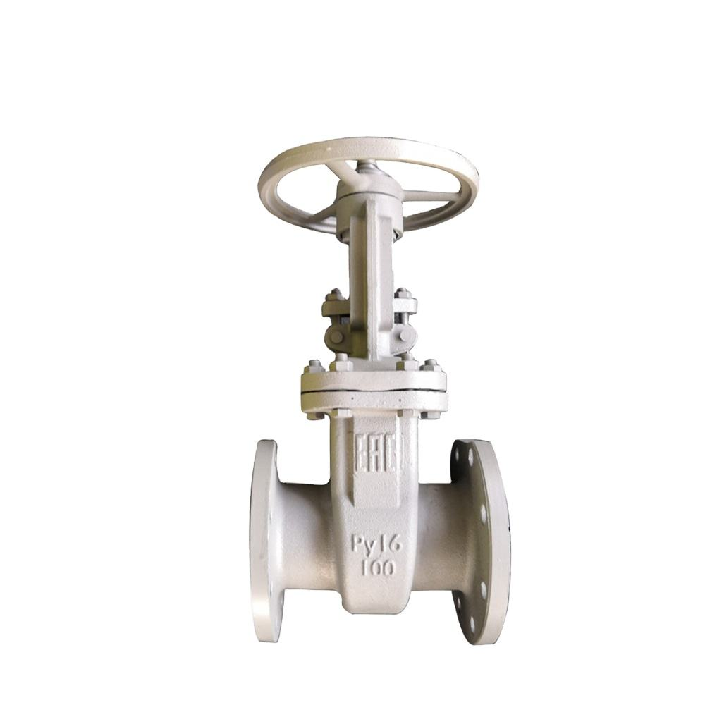 High quality Gost standard Cast Steel wedge gate valve for sluice