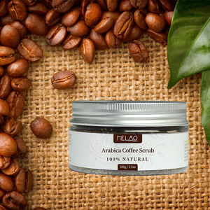 OEM Private Label Organic Herbal Gentle Formula Coffee Bean Scrub For Face Body Exfoliating Coffee Body Scrub 100% Natural