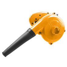 High volume portable small electric air leaf blower for snow