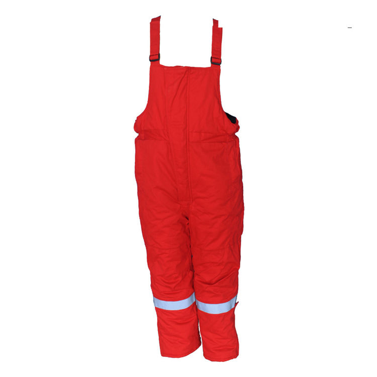 Soft Nice Short Delivery Time Custom Safety Garments Orange Antistatic Bib Overalls