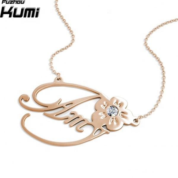 Wholesale handmade solid silver 925 name jewelry