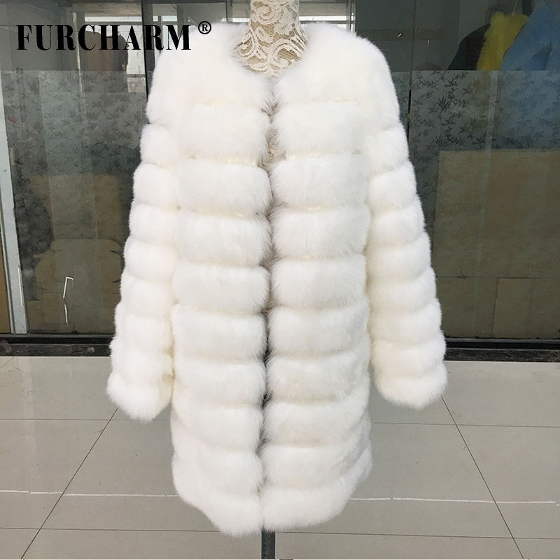 2017 New Women Winter Faux Fur Coat Women Warm Fake Fur Jacket Winter Outerwear