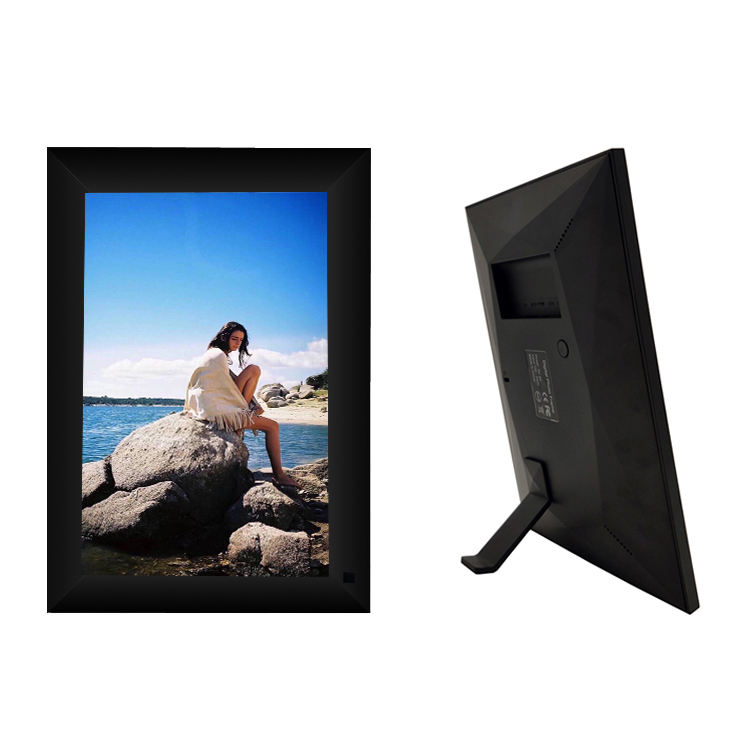 Latest Model Mini Lcd Digital Photo Frame With Wifi,Micro Usb Port, 16Gb Memory