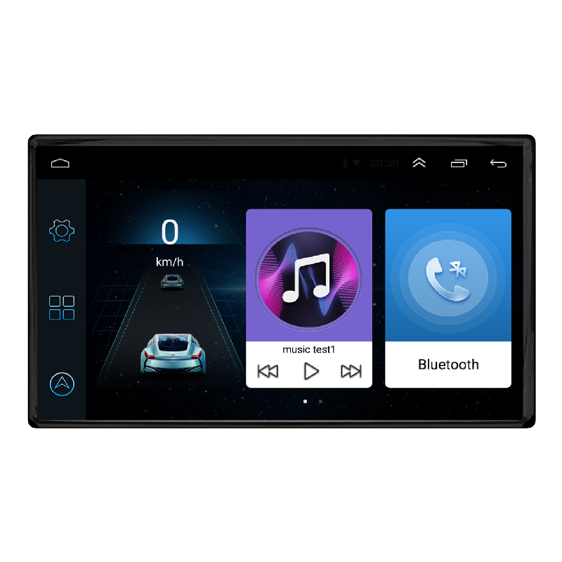Android Universal 7 Inch Multimedia Mobil Radio Android Mobil Stereo Bluetooth Video Player GPS Navigasi Mobil Dvd Player