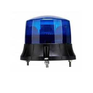 27W LED Beacon Light Warning Emergency Flashing Lamp Blue Police Amublance Car Roof Lights