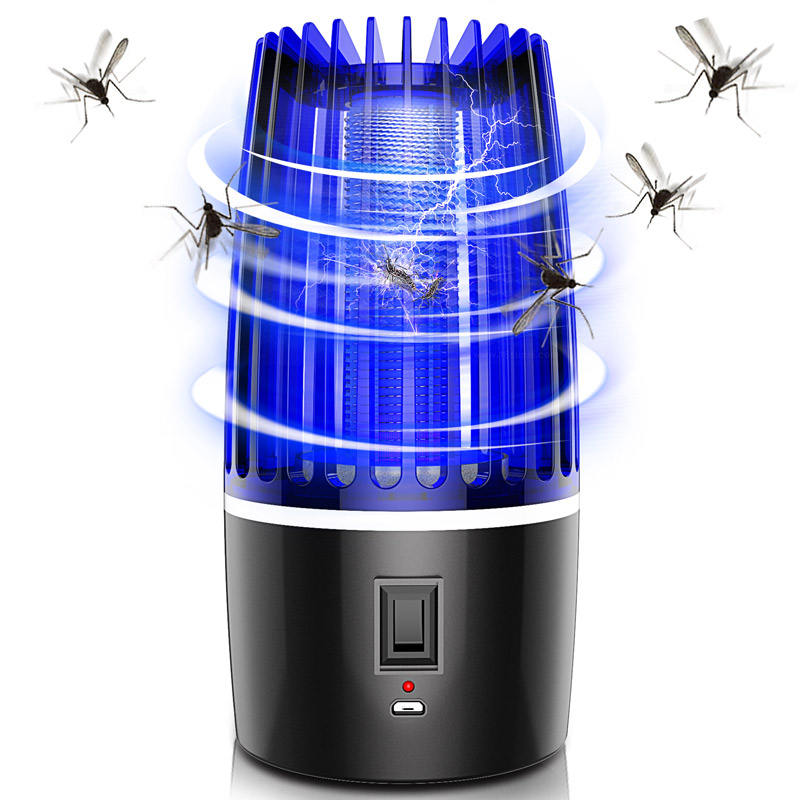 Electric Repellent Electronic Trap Machine Killing Anti Control Uv Usb Mosquito Killer Lamp