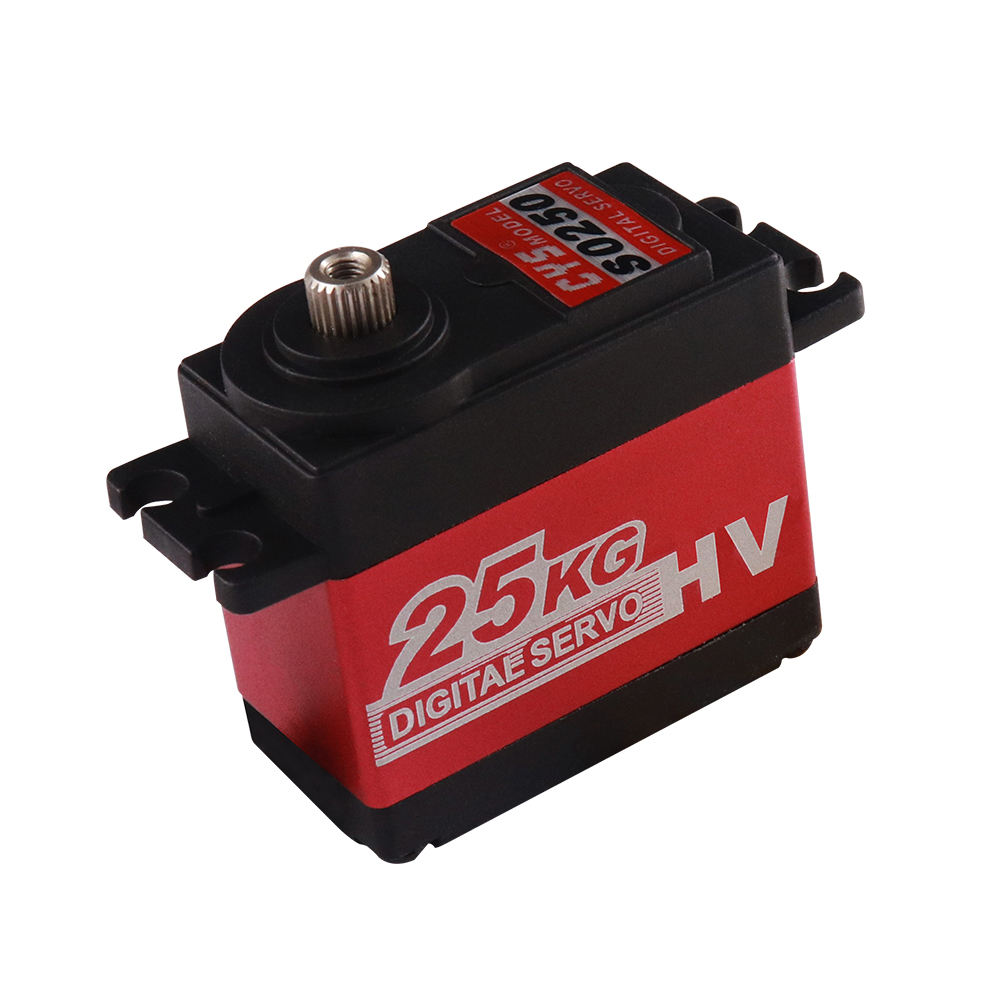 Standerd size waterproof Servo with 25kg Torque,Iron Core Motor with Metal Gear Digital Servo for Rc Car