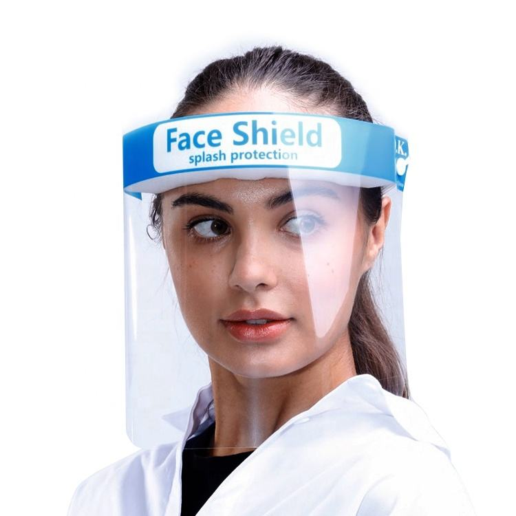 Anti Fog Safety Visor Eye Face Cover Protective Shields medical face shield With ANSI EN166 Certificate