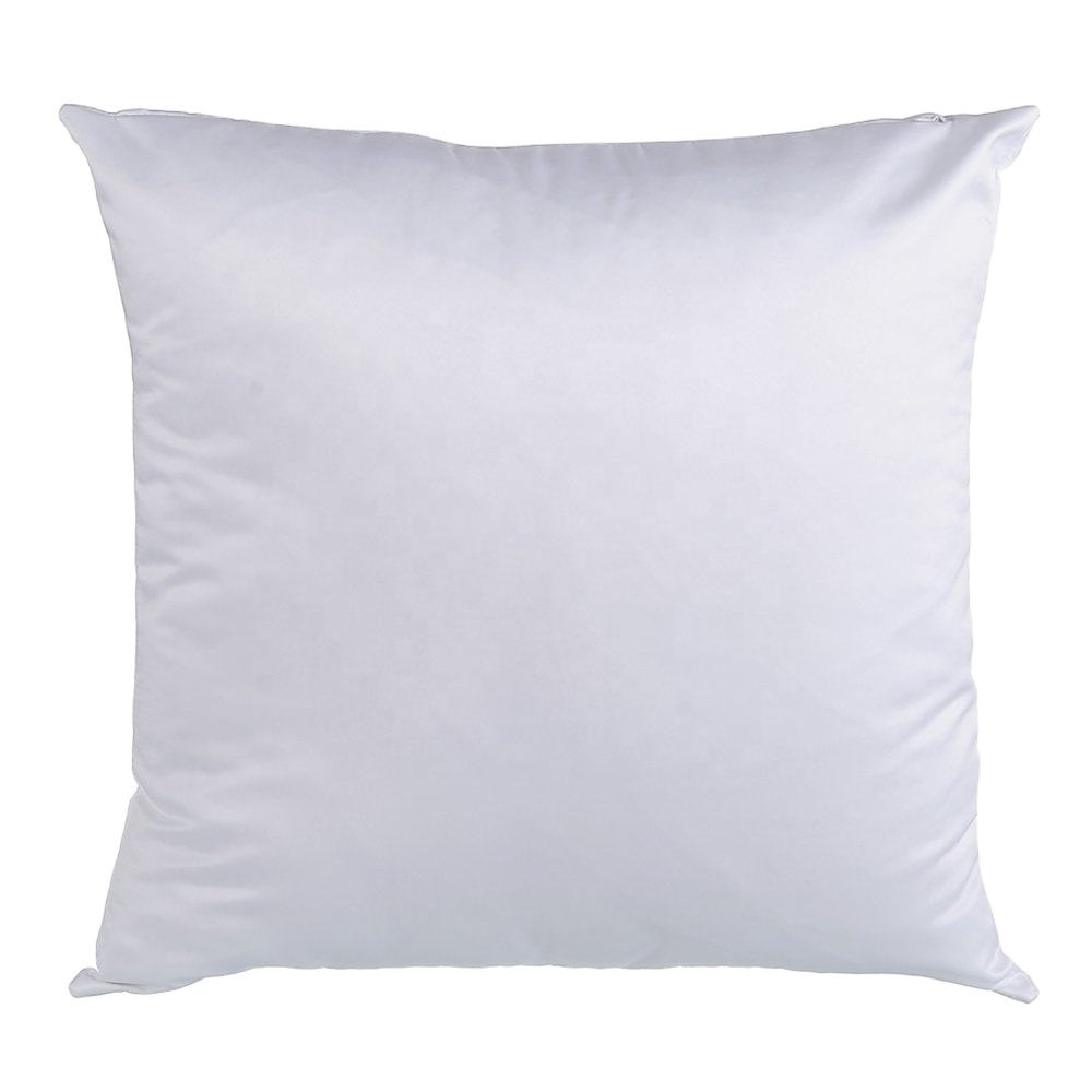 16x16 Inch Square Shape Sublimation Custom Pillow Case Decorative Cushion cover For Promotion