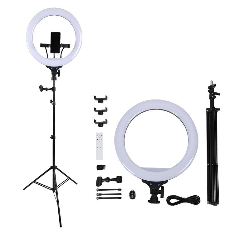 Good Quality With Tripods For Live Stream Photography 14 Inch 18 Inch LED Make Up Ring Light