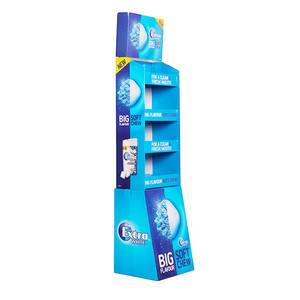 China Dongguan Factory Custom Winkel Promotie Pop Kartonnen Vloer Display/Papier Pos Display/Wijn Kartonnen Display Stand