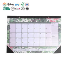 2020 Custom Printing Desktop Calendar Desk Table Monthly Advent Calendar