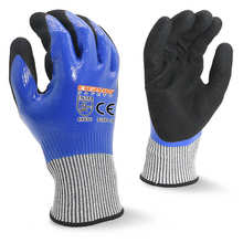 Blade cut resistant gloves waterproof for safety hand work