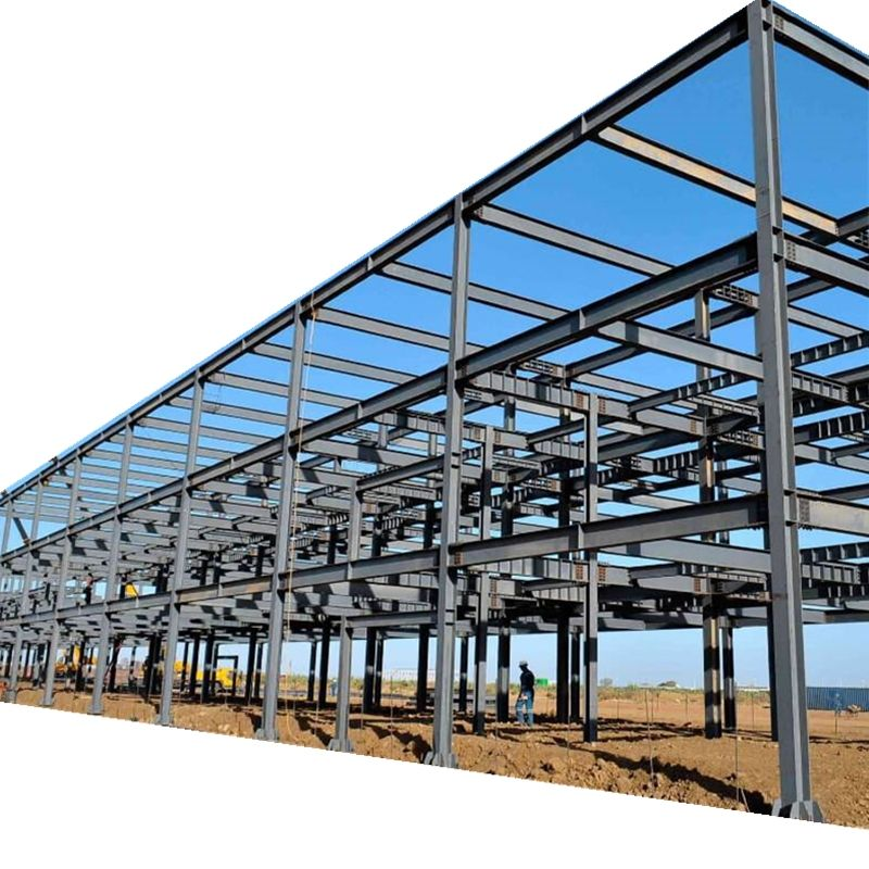 steel portal frame building manufacture prefabricated office steel building
