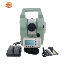 "china total station battery geodetic surveying instruments Sunway ATS320R 2"" accuracy 20000 point memory Compensator"